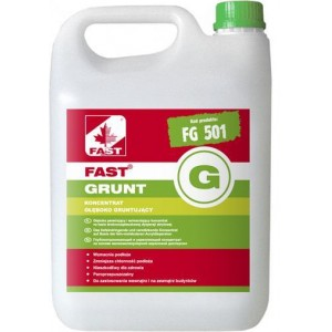FAST GRUNT G PREPARAT GŁĘBOKO PENETRUJĄCY 10L